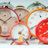 Time Management Managers Door